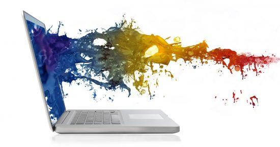 Laptop kleuren