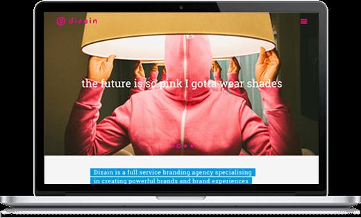 Nieuwe website van Dizain